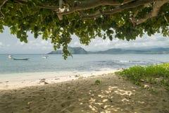 Isla tropical de Sao Tome fotos de archivo