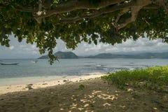 Isla tropical de Sao Tome foto de archivo libre de regalías