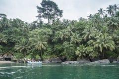 Isla tropical de Sao Tome fotografía de archivo libre de regalías