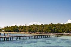 Isla tropical del paraíso Fotografía de archivo libre de regalías