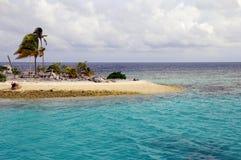 Isla tropical en Maldives Fotografía de archivo