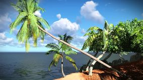 Isla tropical hermosa libre illustration