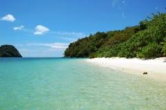 Isla tropical hermosa Imagen de archivo libre de regalías