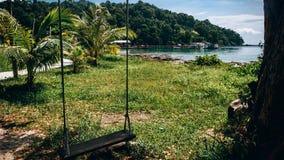 Isla tropical, paisaje hermoso imagen de archivo