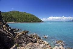 Isla tropical, Whitsundays Imagen de archivo