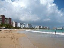 Isla Verde Beach Stock Image