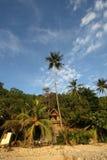 Isla volcánica Imagen de archivo libre de regalías