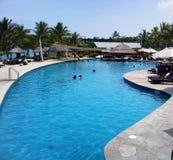 Isla Wyndham Resort Pool de FIJI Denarau Fotografía de archivo