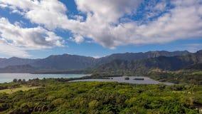 Isla y charca secretas de Moli 'i imagenes de archivo