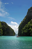 Isla y mar de la phi de la phi Fotos de archivo libres de regalías