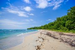 Isla Zapatilla at Bocas del Toro Province in Royalty Free Stock Photography