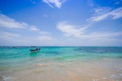 Isla Zapatilla at Bocas del Toro Province in Royalty Free Stock Photos