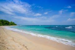 Isla Zapatilla at Bocas del Toro Province in Stock Photo