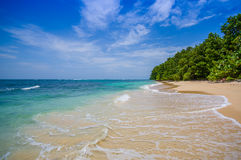 Isla Zapatilla at Bocas del Toro Province in Stock Photo