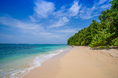 Isla Zapatilla at Bocas del Toro Province in Stock Images
