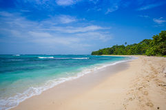 Isla Zapatilla at Bocas del Toro Province in Stock Photos