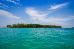 Isla Zapatilla at Bocas del Toro Province in Royalty Free Stock Images