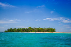Isla Zapatilla at Bocas del Toro Province in Stock Image