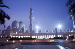Islam in Abu Dhabi, United Arab Emirates Stockfoto