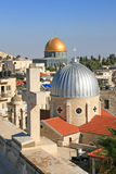 Islam and christianity in Jerusalem. Stock Image