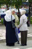 ISLAM IN EUROPA Fotografie Stock Libere da Diritti