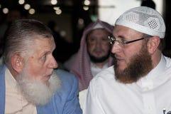 Islam-Gespräch Lizenzfreies Stockbild