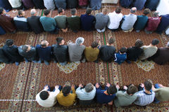 ISLAM I EUROPA arkivfoton
