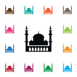 Islam Icon. Minaret Vector Element Can Be Used For Minaret, Mosque, Islam Design Concept. Minaret Vector Element Can Be Used For Minaret, Mosque, Islam Design Stock Images