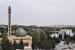 Islam in Jordan. Universitys Mosque in Amman,Jordan Stock Photography