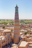 Islam Khodja Minaret in Khiva, Uzbekistan Royalty Free Stock Image