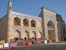 Islam Khoja madrassah in Khiva Stock Image