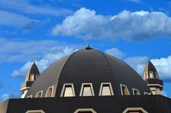 Islam moské, växande måne, religion Arkivfoto