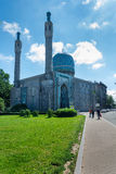 Islam mosque in St Petersburg Russia Royalty Free Stock Images