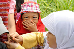 Islam, muchacha musulmán fotografía de archivo