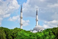 Islam Muslim Religion Architecture Mosque. Islam Muslim Religion Arabic Culture Architecture Mosque stock photo