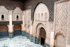 Islam school Marrakech Morocco Royalty Free Stock Images