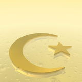 Islam Symbol - 3D render Royalty Free Stock Photography