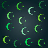 Islam Symbol Wallpaper Royalty Free Stock Image