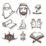 Islam symbols Royalty Free Stock Photos