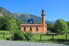 Islam temple of the South Russia. Image of Islam temple of the South Russia Royalty Free Stock Photo