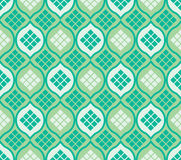 Islam window ketupat seamless pattern Royalty Free Stock Image