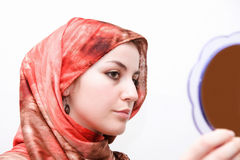 Islam woman beauty Royalty Free Stock Photo