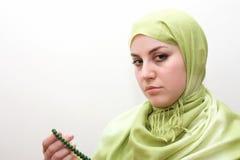 Islam woman prayer royalty free stock images