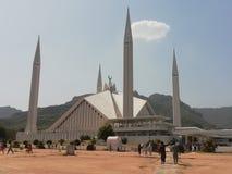 islamabad faisal meczet obrazy royalty free