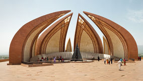 The Pakistan Monument in Islamabad Royalty Free Stock Photo