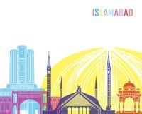 Islamabad skyline pop Stock Photography