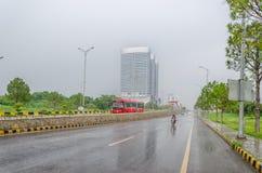 Islamabad-Stadtzentrum Lizenzfreies Stockfoto