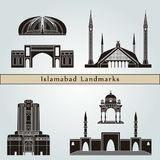 Islamabad zabytki i punkty zwrotni Fotografia Stock