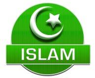 Islamgräsplancirkel Royaltyfri Bild