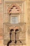 Islami decoration outside the Mezquita in Cordoba Stock Photos